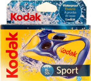 Kodak Sport Waterproof - underwater Disposable 35mm Camera 2 PACK SPECIAL